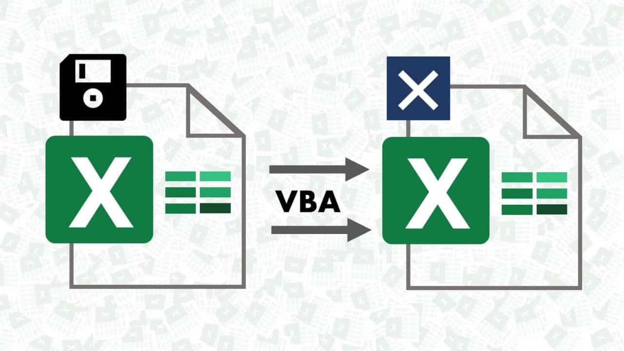 Save Workbook before Closing using Excel VBA